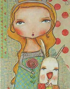 Patti Ballard | Alice and White Rebbit