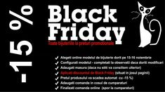 Profitati de discount-ul de Black Friday!!!