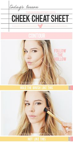 Blush & Bronzer work together to become such a pretty pair! But there are a few tricks you need to master to make the magic happen! Click twice on the picture to see the rest of the tips + our favorite products!