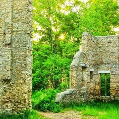 Corran Ruins, Wiarton Carleton Place, Canadian Travel, O Canada, Road Trips, Ontario, Gothic, To Go, Southern, Traveling