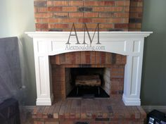 Classic Living Room Fireplace Mantels Modern Fireplace Mantels, Fireplace Mantle, Entertainment Center Decor, Entertainment Units, Waffle Ceiling, Family Room Fireplace, Living Room Shelves, Classic Living Room, Healthy Living Magazine