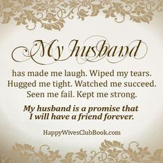 My Husband...
