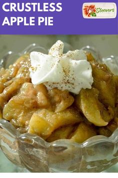 Keto Apple Pie filling recipe that uses no apples, but still tastes EXACTLY like apple pie! Here's a great sugar-free, healthy mock apple pie filling recipe, ready in under 30 minutes. Keto Desserts, Desserts Nutella, Dessert Recipes, Apple Desserts, Fruit Recipes, Holiday Desserts, Ketogenic Diet, Ketogenic Recipes, Low Carb Dessert