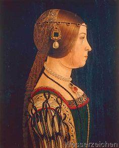 Alessandro Araldi - Portrait of Barbara Pallavicino