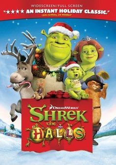 Shrek S Thrilling Tales Is The Ultimate Halloween Dvd Compilation For Your Family Featuring The Scariest Ugliest And Funniest Char New Dvds Ame Pinte