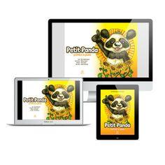 Petit Panda préfère le jaune – Multiformat