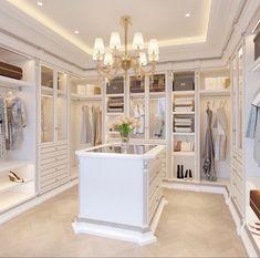 Master Closet Design, Walk In Closet Design, Master Bedroom Closet, Closet Designs, Dressing Room Closet, Dressing Room Design, Dressing Rooms, Dream Home Design, Home Interior Design