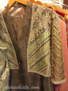 ~ Living a Beautiful Life ~ Faraz Manan's Nawabi Collection at Ensemble Karachi Pakistani Fashion Party Wear, Pakistani Wedding Outfits, Pakistani Dress Design, Pakistani Dresses, Indian Fashion, Pakistani Couture, Stylish Dresses For Girls, Party Wear Dresses, Event Dresses