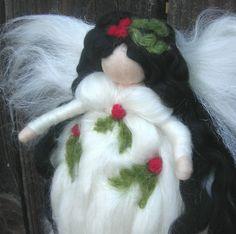 Silken Holly Fairy by Nushkie of Los Angeles, California.