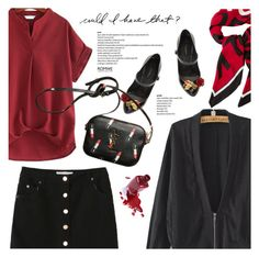 """""""Back to School (Read D)"""" by defivirdavp ❤ liked on Polyvore featuring Dolce&Gabbana"""