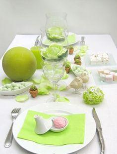 Décoration de table - Photo Coeur d'artichaud