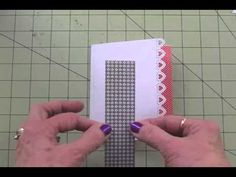 """▶ """"SENDING YOU TONS OF LOVE!"""" - YouTube; Valentine card using George cartridge and MS punch"""