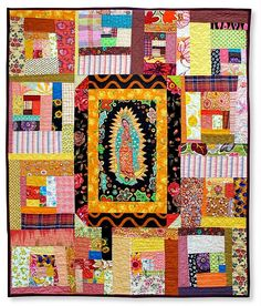 Lady of Guadaloupe quilt by Nifty Quilts