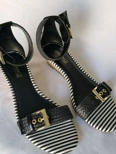 7ce8ed650d40 17) Very Comfortabe Size 9 Black And Rhinestone Cerfew Sandals in 2018