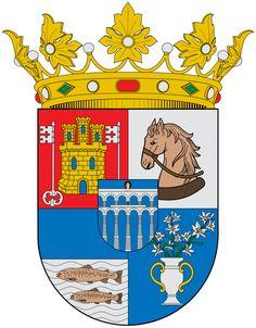 Escudo de la Provincia de Segovia - España. La provincia de Segovia es una provincia española perteneciente a la comunidad autónoma de Castilla y León, situada al norte del Sistema Central que divide en dos la altiplanicie del centro de la Península Ibérica. Su capital es la ciudad homónima de Segovia. Tiene una superficie de 6.920,65 km², siendo la provincia de menor extensión de Castilla y León. La provincia de Segovia consta de 209 municipios y 17 entidades locales menores.