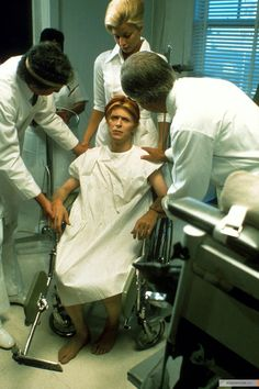 David Bowie in 'The Man Who Fell to Earth', 1976,
