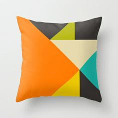 Balancing Act #7 Throw Pillow by Jazzberry Blue - $20.00