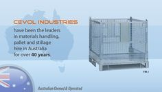 If you are a distribution or logistics professional then it may interest you to know that hiring from Cevol Industries is a great way to save money. Ways To Save Money, 40 Years, Pallet, Melbourne, Saving Money, Transportation, Industrial, Australia, Steel