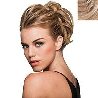 Hairdo Style-A-Do Mini long hairstyles, easy hairstyles, short hair, wedding hairstyles Braided Hairstyles, Wedding Hairstyles, Hair Bump Hairstyles, Short Hair Styles, Natural Hair Styles, French Braid Ponytail, Knotted Braid, Looks Chic, Light Brown Hair