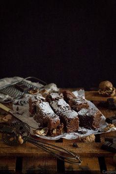 Brownie de chocolate azucar