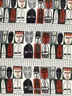 """""""masks"""" by robert stewart for liberty, 1954"""