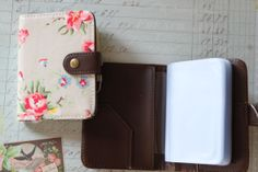 cool Oilcloth card holder