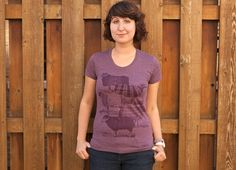 Awesome purple tee from Threadless