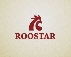 #logo #design #inspiration #red #roostar
