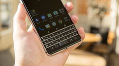 BlackBerry KeyOne specs vs. HTC U Ultra Google Pixel iPhone 7     - CNET  This April the BlackBerry KeyOne will come into the market as a high-end phone  the first with both Android 7.1 Nougat software and a QWERTY keyboard. But when it does itll face staunch competition from a bevy of Android phones that have large touchscreens and premium hardware from all-metal bodies to powerful processors and cutting-edge camera tech.   So how will the KeyOne stack up? We can never answer that…