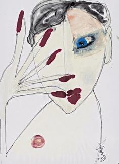Antonio Marras.  sketch image fashion