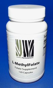 5-MTHF, the active, methylated form of folate, requires no additional metabolic steps to be used by the body, thus it is often the preferred choice for those with absorption or metabolic defects. Methyl-Folate efficiently supports methylation, DNA biosynthesis, homocysteine metabolism, and nervous system function. Each capsule supplies 1 mg (1,000 mcg) of folate.