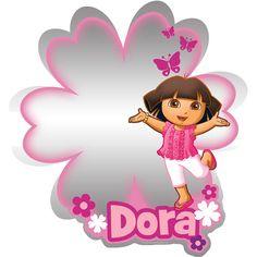 Nickelodeon - Dora the Explorer Adhesive Mirror, Medium