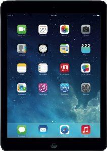 "Apple IPAD AIR WI-FI 16GB 16 GB 1024 MB 9.7 -inch Retina display. RRP: £334.00. Price:	£299.00 (FREE Delivery); You SAVE £35 (10%)..  ""WONDERFUL. My disabled friend LOVES it.."" -- By  Mrs. Dorothy Hazlewood; MORE via: http://www.sd4shila.net/uk-visitors  OR  http://sd4shila.creativesolutionstore.com/inter-links.html    OR http://www.sd4shila.net/  OR http://sd4shila.creativesolutionstore.com"