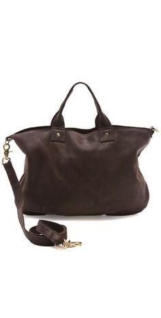 clare vivier messenger bag // black // $363