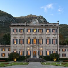 A Rare Glimpse Inside an Iconic Italian Villa Sola Cabiati, or—to those in the know—La Quiete. Lake Como, Italy