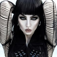 Piercings, Piercing Tattoo, Black Lashes, Goth Beauty, Model Face, Brunette To Blonde, Punk Goth, Instagram Models, Dreams