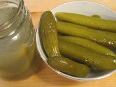 The Iraqi Family Cookbook: Iraqi Cucumber Pickles-Turshi Khiyar