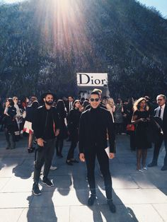 Paris Fashion Week Diary: Dior Spring 2016 | Jesse Garza of  Visual Therapy #visualtherapy #fashion #pfw