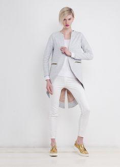 Mantel Frack aus Baumwolle // cotton tailcoat via  DaWanda.com
