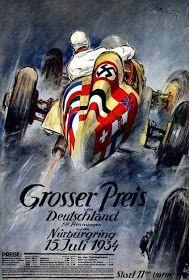 GRANDPRIXWEB: Posters ( XIV ) G.P. da Alemanha de 1934
