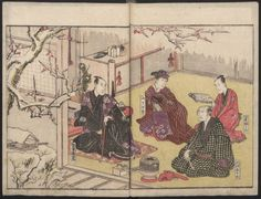 Teachings on the Living Images of Actors (Yakusha sangai kyō 俳優三階興) : [volume 1]. 1801. Metropolitan Museum of Art (New York, N.Y.). Department of Asian Art. Japanese Illustrated Books. #illustrations