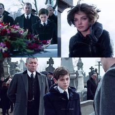 Waynes' funeral :( #selina #bruce #gotham season 1. Pilot episode