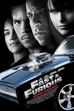 """Fast & Furious on DVD July 2009 starring Vin Diesel, Paul Walker, Michelle Rodriguez, Jordana Brewster. Vin Diesel and Paul Walker reteam for the ultimate chapter of the franchise built on speed—""""Fast and Furious. All Movies, Action Movies, Great Movies, Movies To Watch, Movies Online, Movies And Tv Shows, Awesome Movies, Action Film, Latest Movies"""
