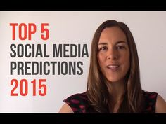 Top 5 Social Media Predictions 2015 - http://videos.pbntrustmachines.com/uncategorized/top-5-social-media-predictions-2015/