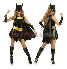 Batman Batwoman Costume  sc 1 st  Pinterest & Light-Up Batgirl Costume for $58.00 (available up to size Xlarge ...