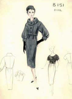 Vintage Dior: Grey Suit