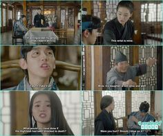 Scarlet Heart Ryeo Funny, Moon Lovers Quotes, Baekhyun, Exo, Drama 2016, Wang So, Korean Drama Quotes, Drama Memes, Korean Dramas