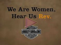Harley-Davidson: they really know how to market to women (and yes, I want another one!)