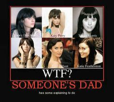 Zooey Deschanel, Katy Perry, Siwan Morris, Mia Kershner, Emily Blunt, and Katie Featherstone. Who knew? haha