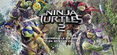 Teenage Mutant Ninja Turtles 2 ou Ninja Turtles 2, la suite des aventures de Leo, Donnie, Mikey et Raph, une nouvelle menace arrive, Casey Jones aussi.